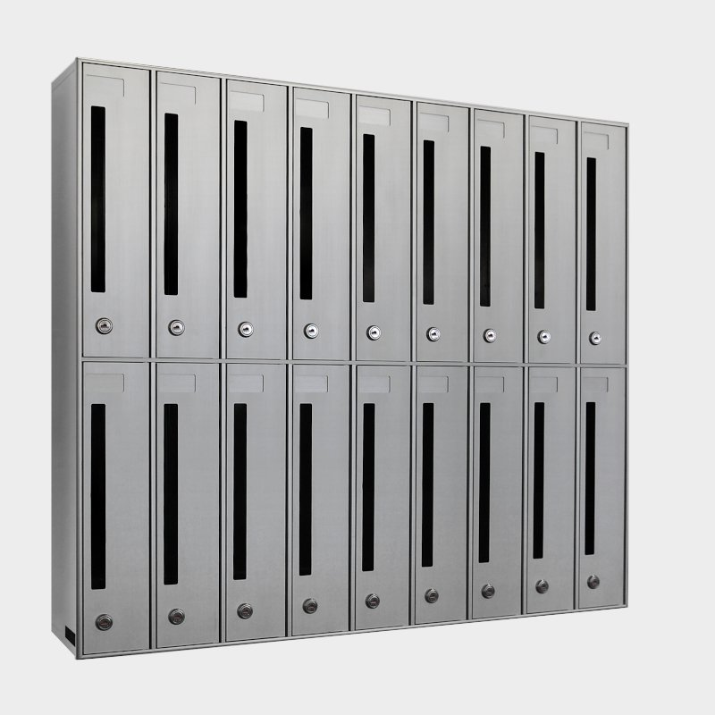 cassette postali condominiali verticali