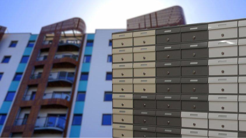 cassette postali per l'edilizia residenziale