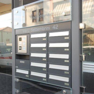 cassetta postale passante