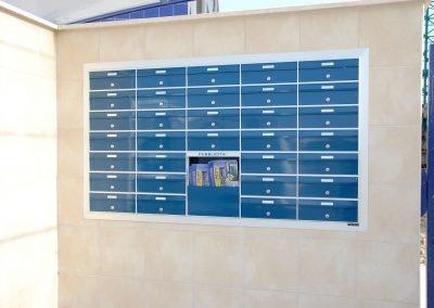 cassetta della posta da incasso